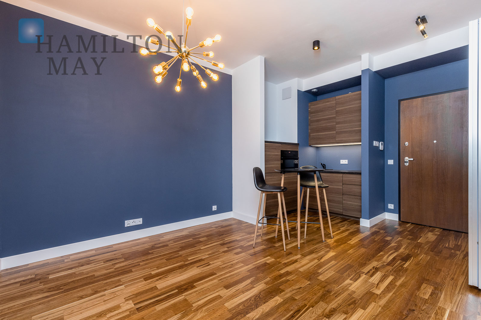 Functional, brand new studio apartment for rent for residential or office purposes Warsaw for rent