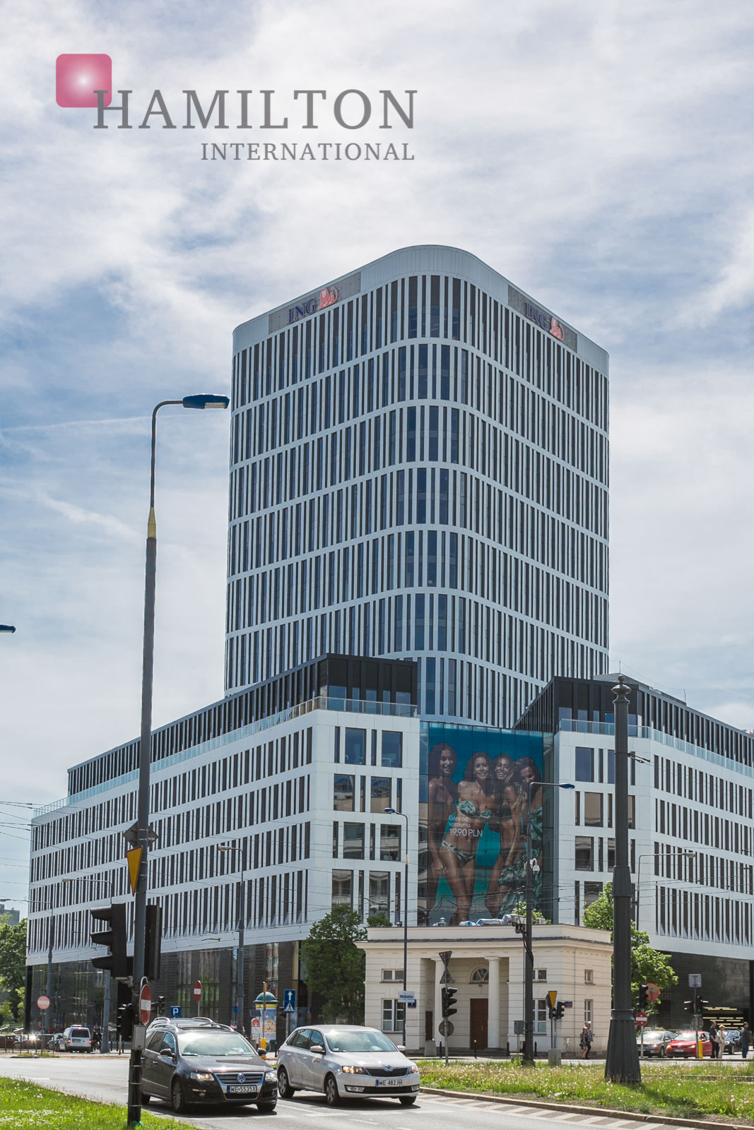 Plac Unii Warsaw office building photo