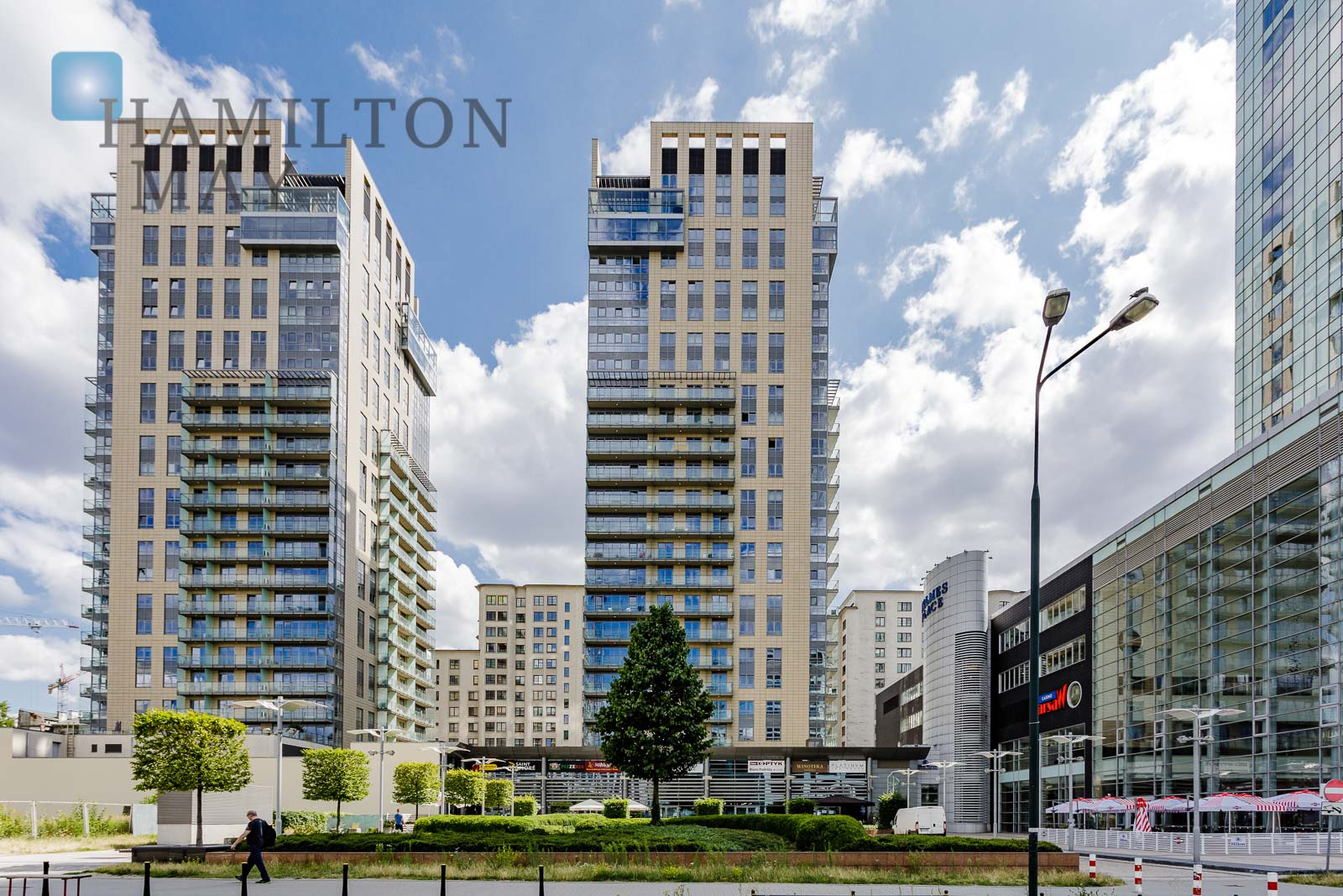 Platinum Towers Warsaw development photo