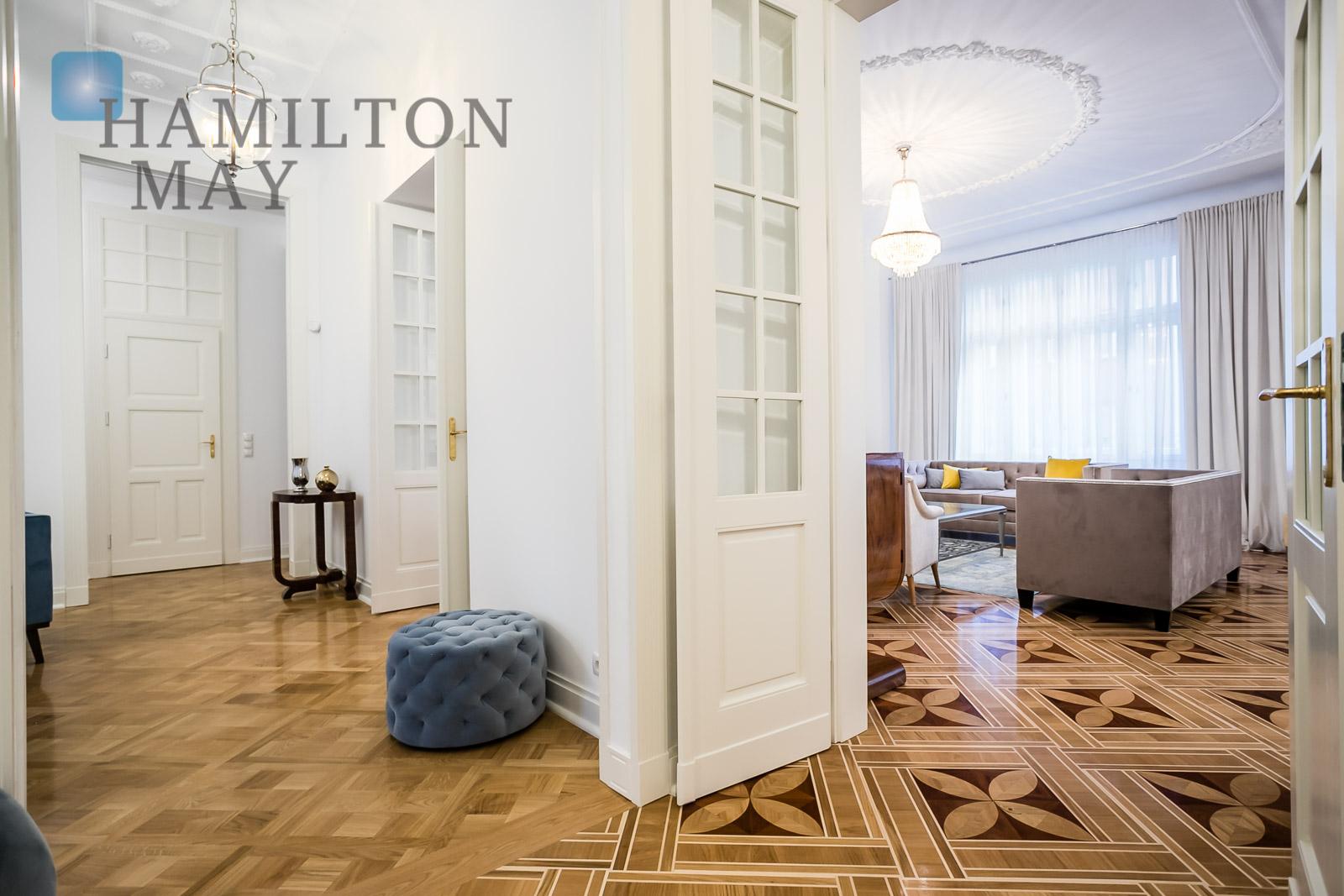 Piękny apartament w stylu art deco w zrewitalizowanej kamienicy przy Nowogrodzkiej 4.  Warszawa na wynajem