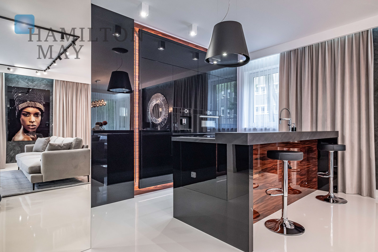 Luxurious apartment in a modern investment in Mokotów Warsaw for sale