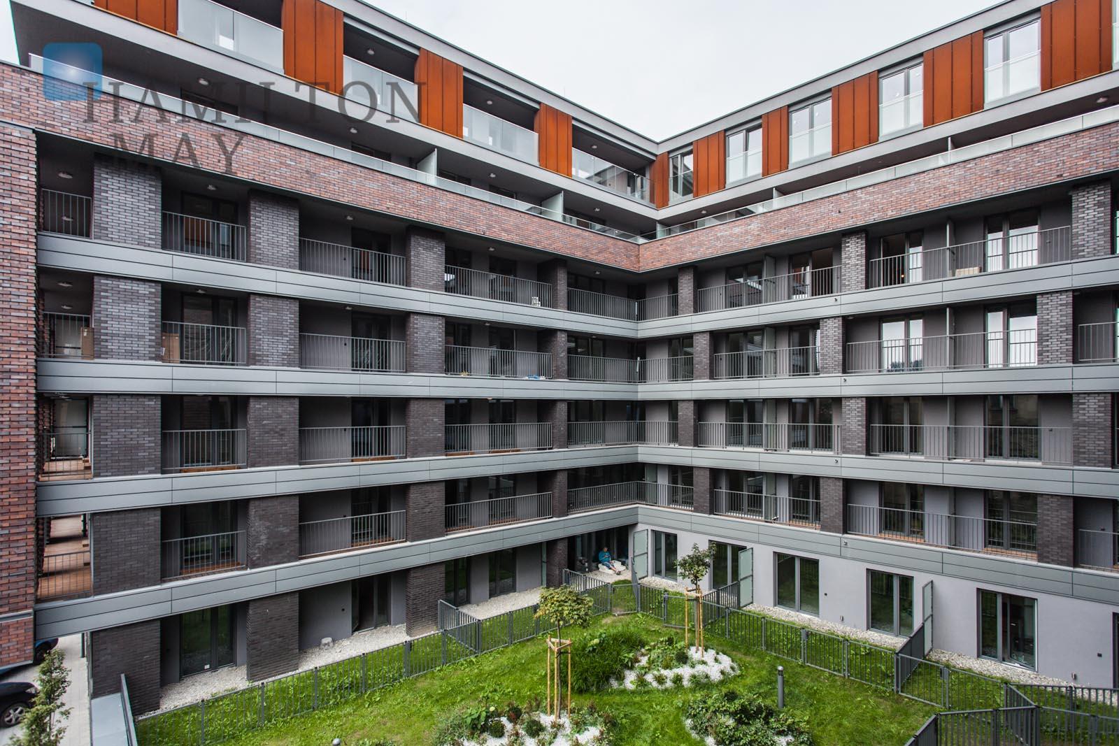 Modern apartment in a prestigious location Nadwiślańska 11 at Vistula Boulevards Krakow for rent