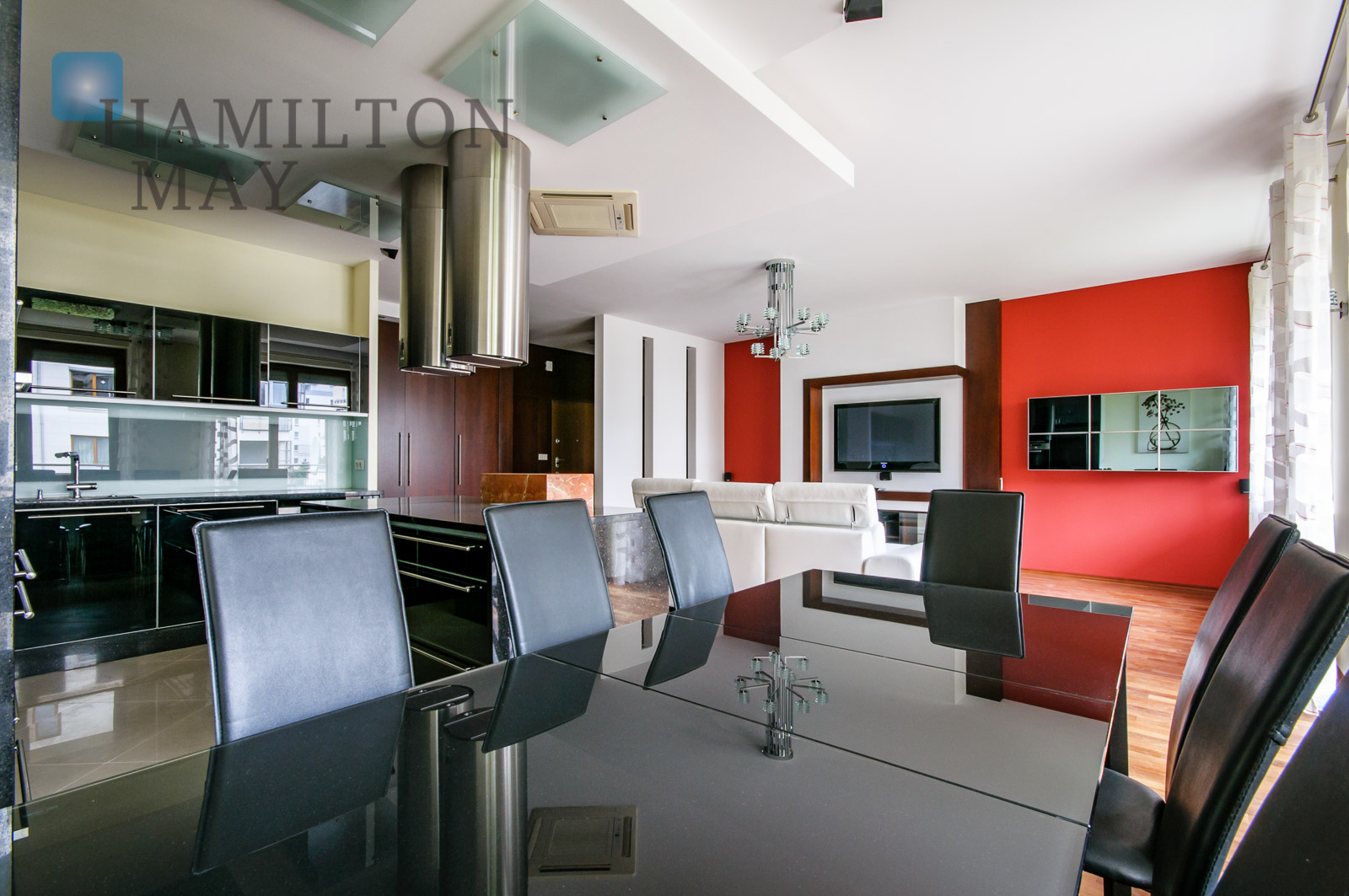 Unique apartment situated in the Marina Mokotów settlement Warsaw for sale