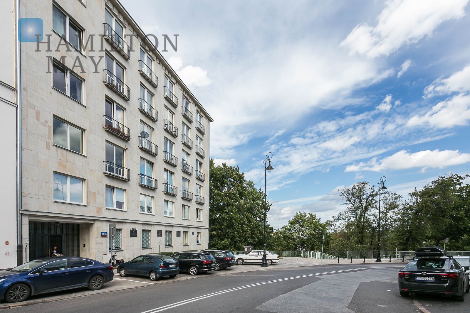 A studio apartment in an elegant townhouse nearby the Presidential Palace Warsaw for rent
