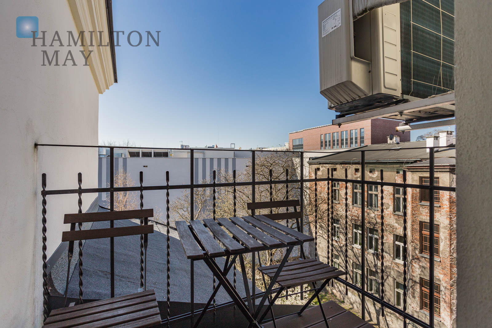 Hamilton May presents a modern and stylish apartment located on Czysta street. Krakow for rent