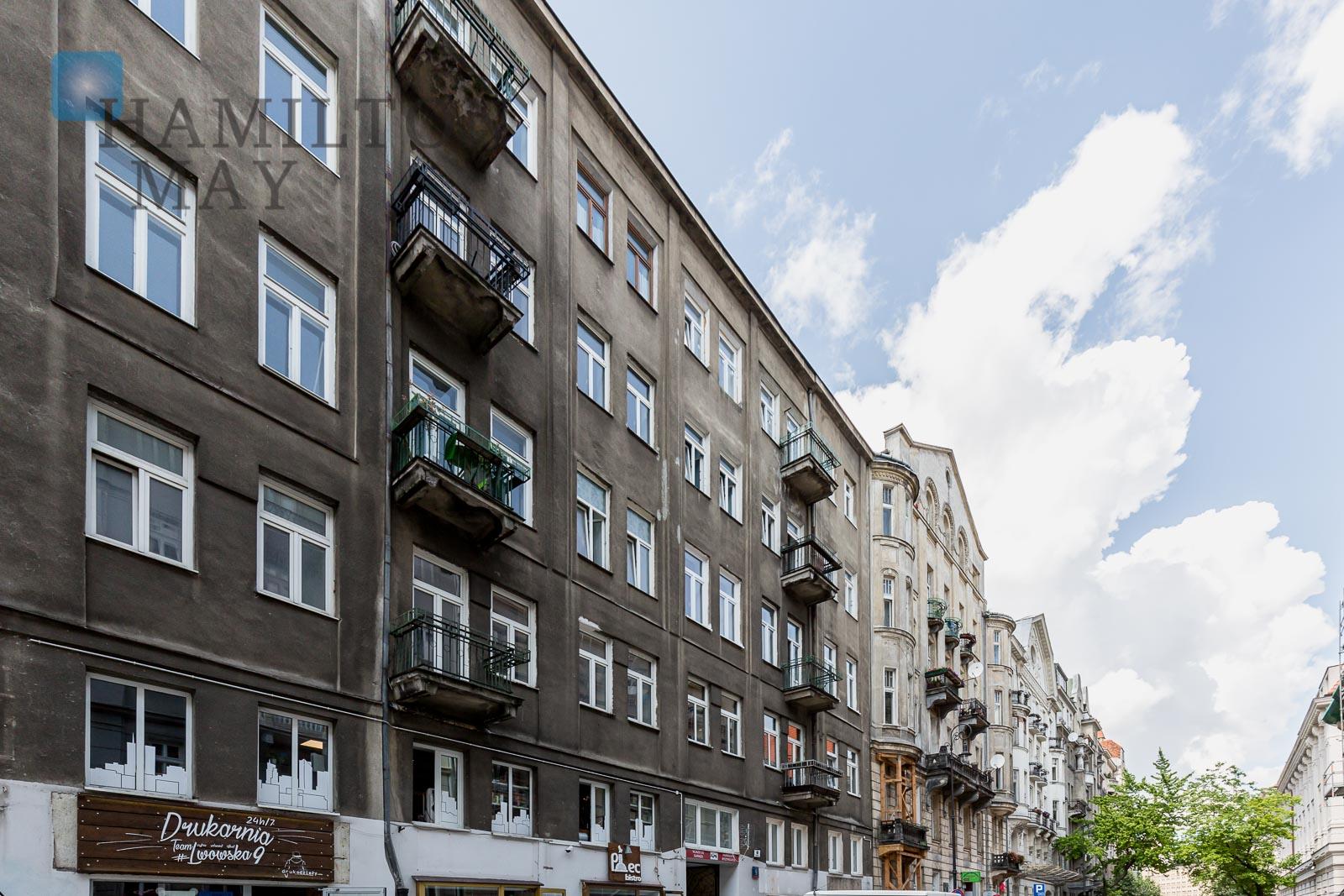 Mikrokawalerki Premium w rewitalizowanej kamienicy na Lwowskiej 9 Warszawa na sprzedaż