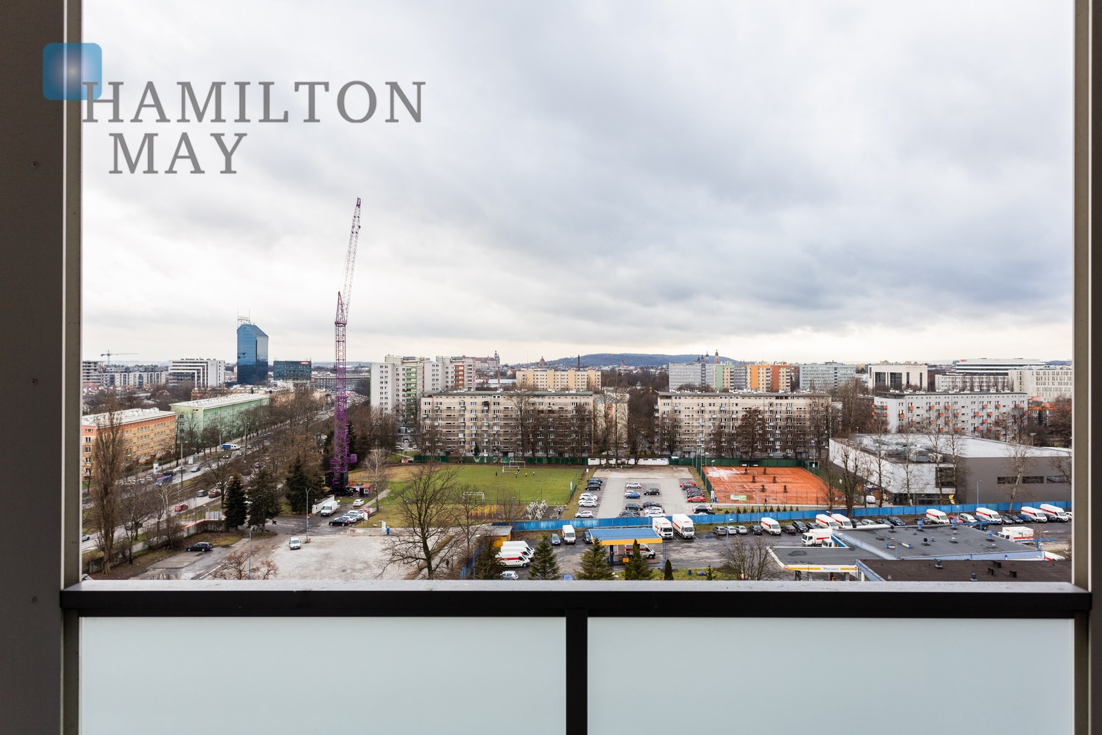 Luxurious penthouse in the modern Art City complex Krakow for rent