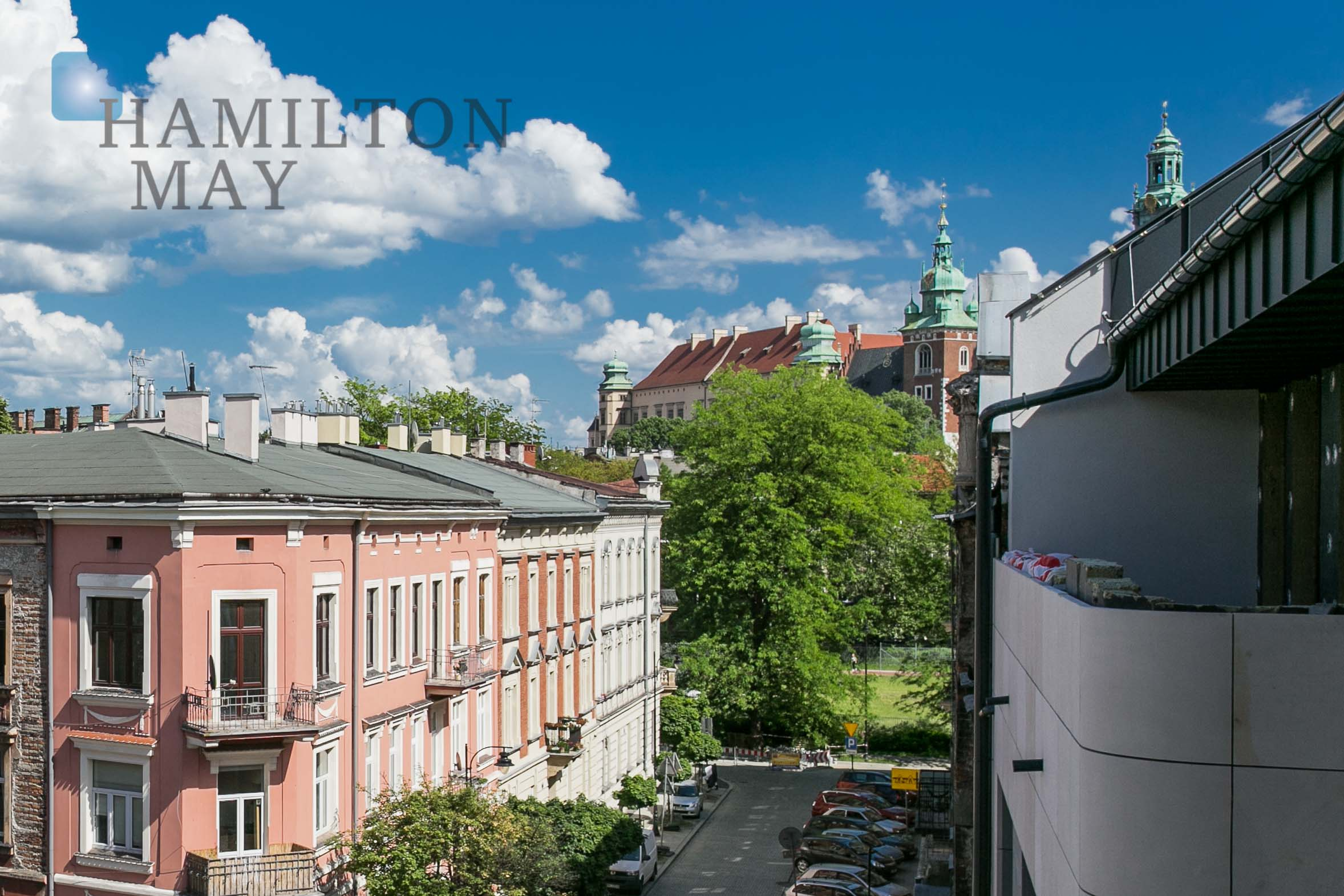A one-bedroom apartment in the newly developed Kamienica Nowy Świat investment Krakow for rent