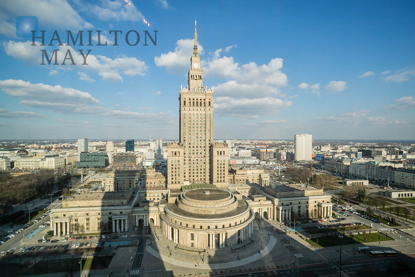 A luxurious apartment with a view of the Palace of Culture and Science Warsaw for rent