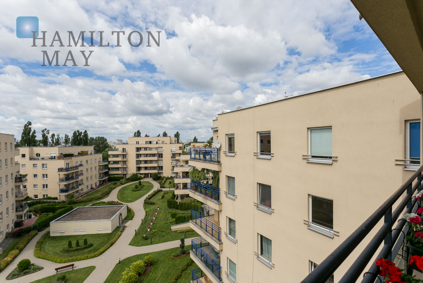 A two bedroom apartment located nearby the British and French School Warsaw for rent