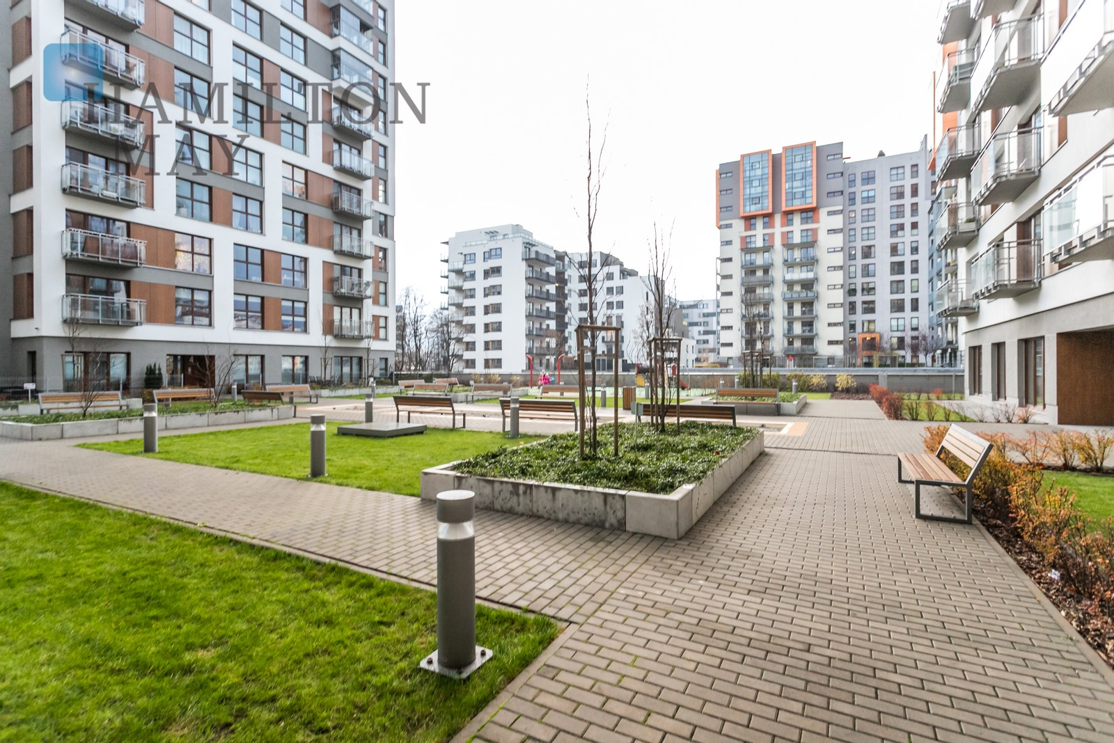 Spacious two bedroom Apartment in the Vista Mokotow Development Warsaw for sale