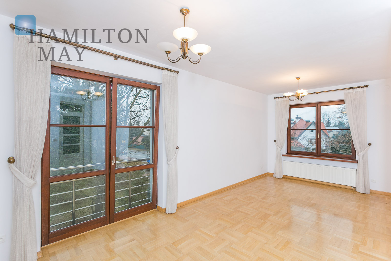 A villa in Konstancin, in the vicinity of the American School Warsaw for rent