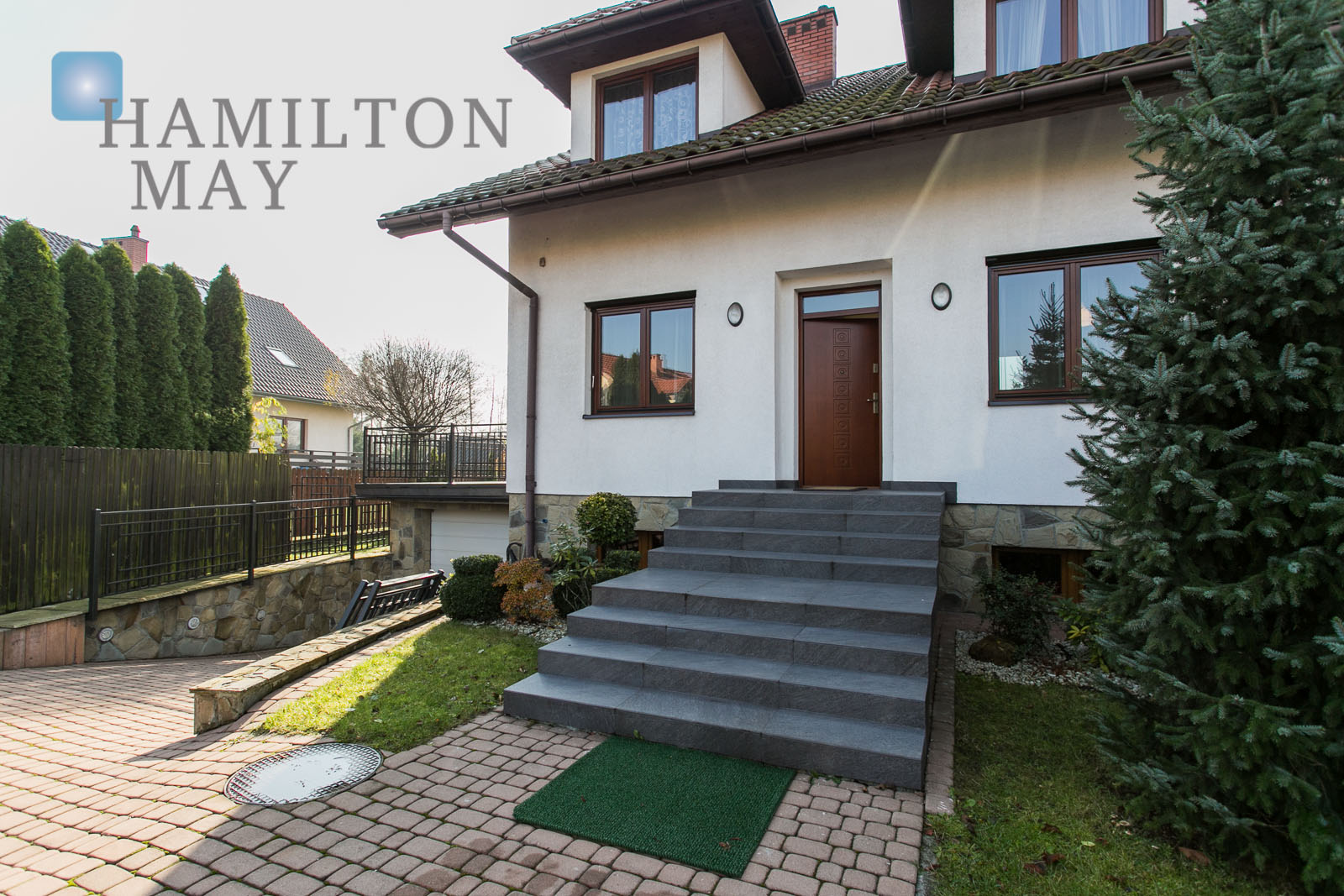 For rent detached 5 bedroom modern house in a green area Krakow for rent