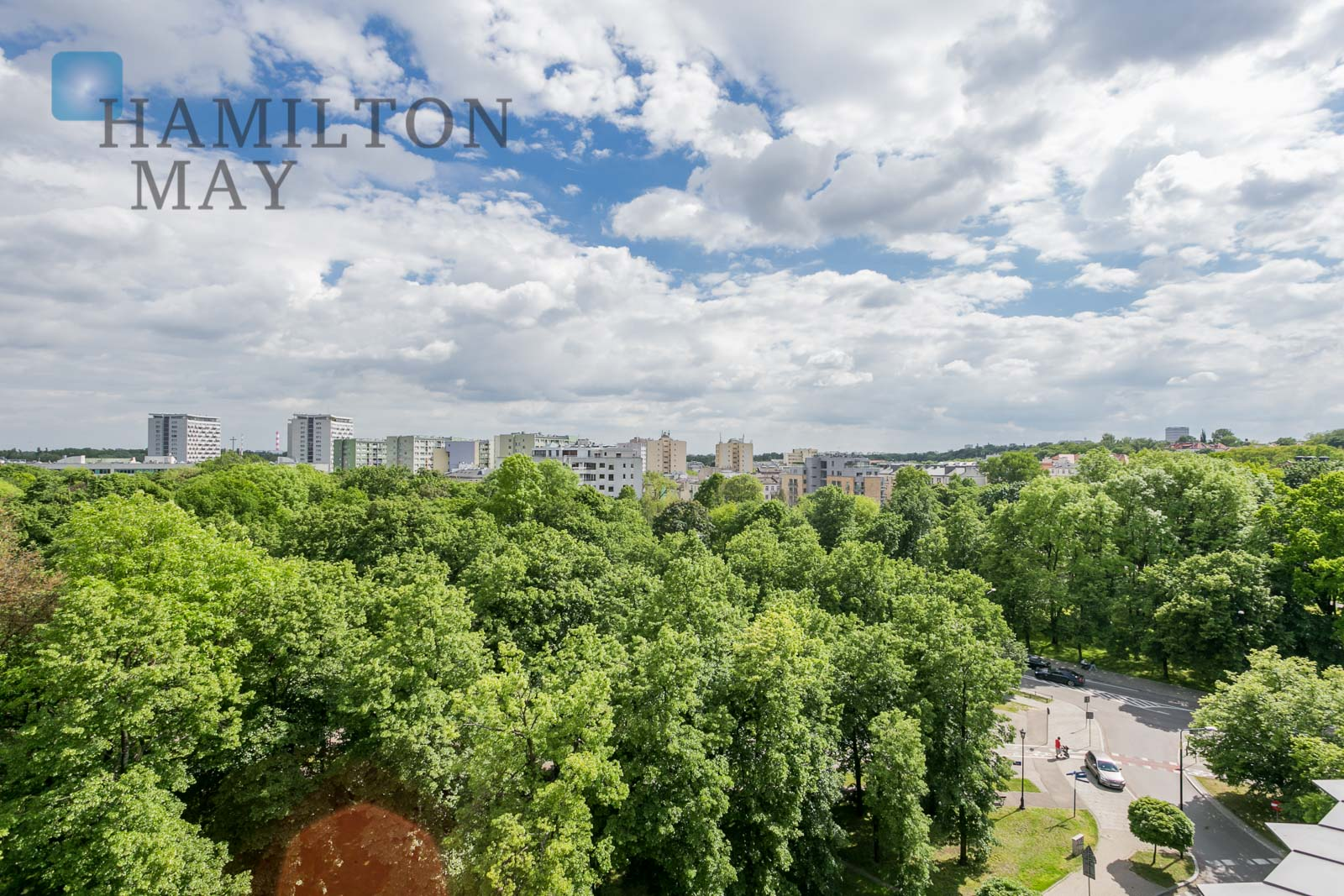 Modern, two bedroom apartment in the extended area of a renovated townhouse in Powiśle Warsaw for rent