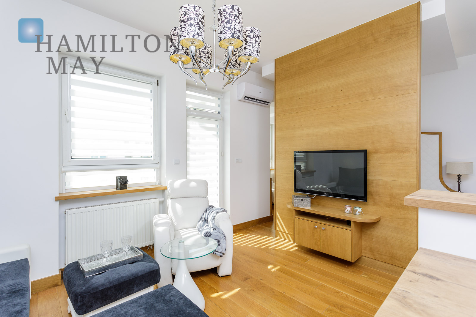 A modern, comfortable apartment in a quiet part of Mokotów Warsaw for rent