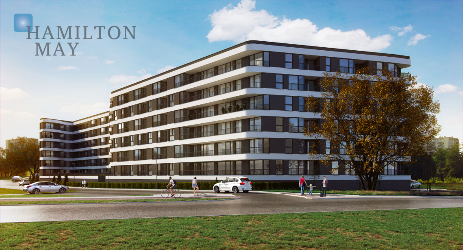 An apartment offered for sale in the new Lublańska Park investment Krakow for sale