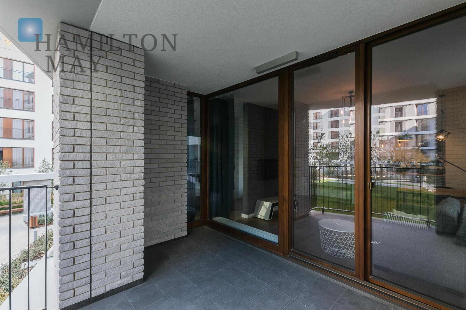New, three bedroom apartment with a terrace located nearby a business center in Służewiec Warsaw property photo