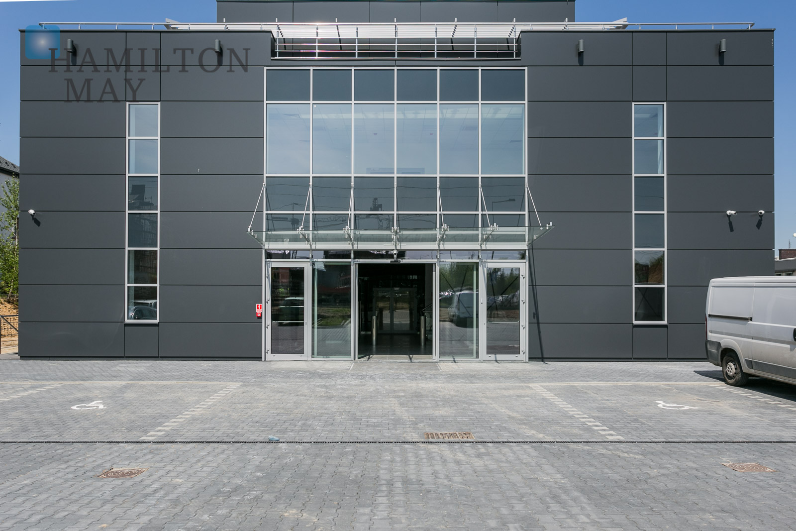 Sosnowiecka 75 Kraków office building photo