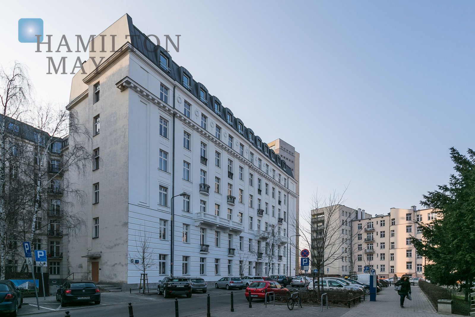 Comfortable studio apartment in the Kamienica Ordynacka development Warsaw for rent