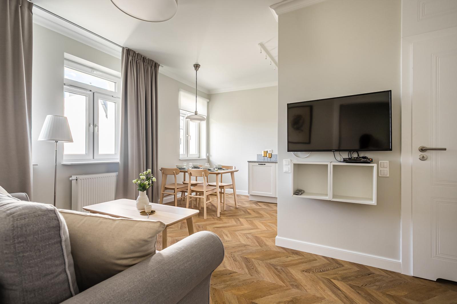 Przytulne dwupokojowe mieszkanie w zrewitalizowanej kamienicy przy ul. Jagiellońskiej Warszawa na wynajem
