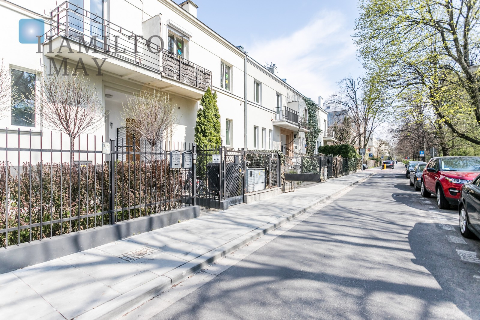 A unique two-level apartment located in a quiet part of the green district of Ochota. Warsaw for rent