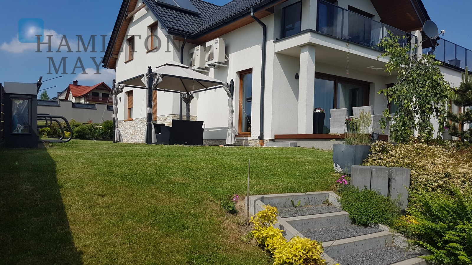 A modern, comfortable house in the vicinity of Parkowego Wzgórza in Mogilany, with a fantastic view of the Tatra Mountains Krakow for sale