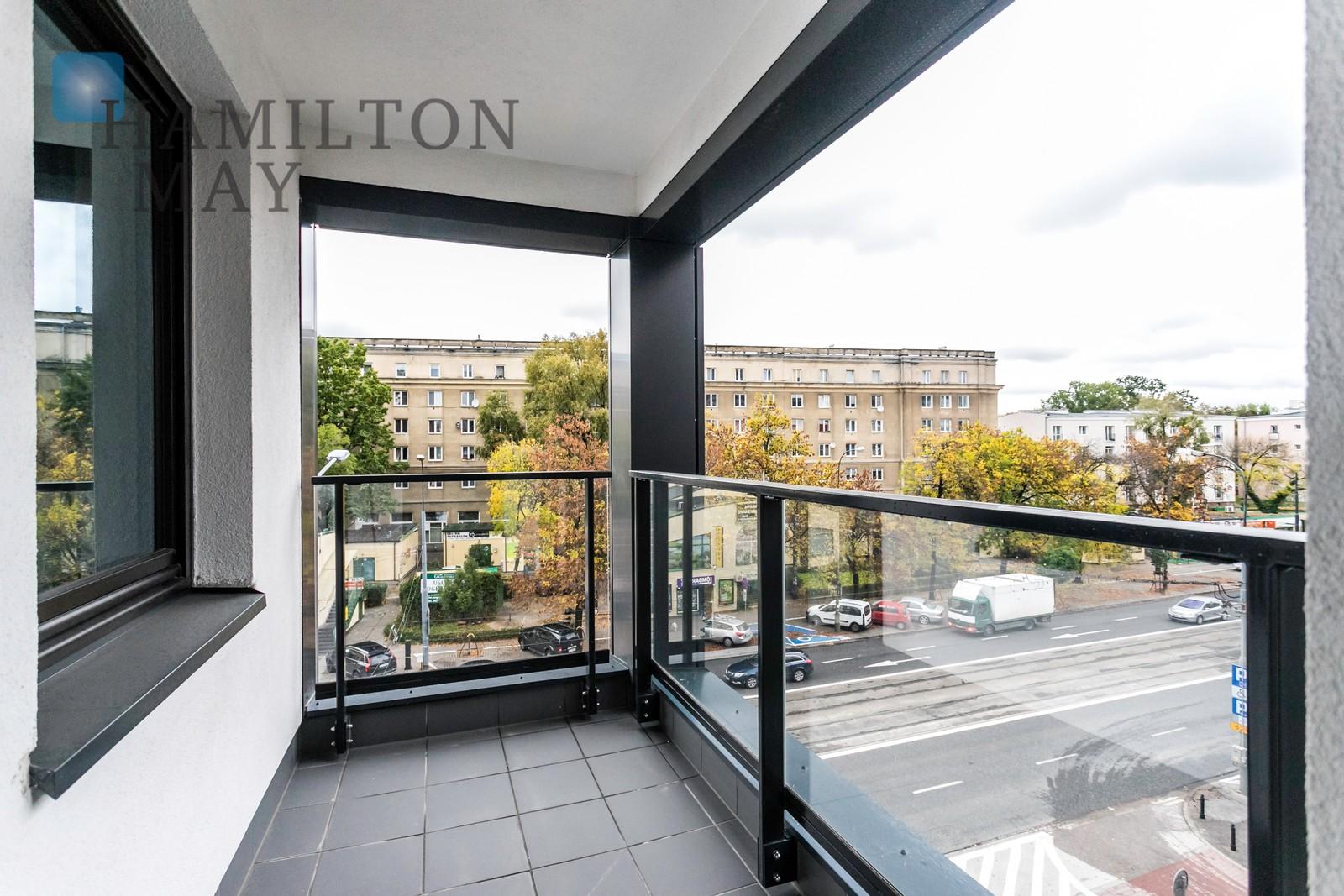 Uroczy, elegancki apartament z jedną sypialnią w inwestycji City Link na warszawskiej Woli Warszawa na wynajem