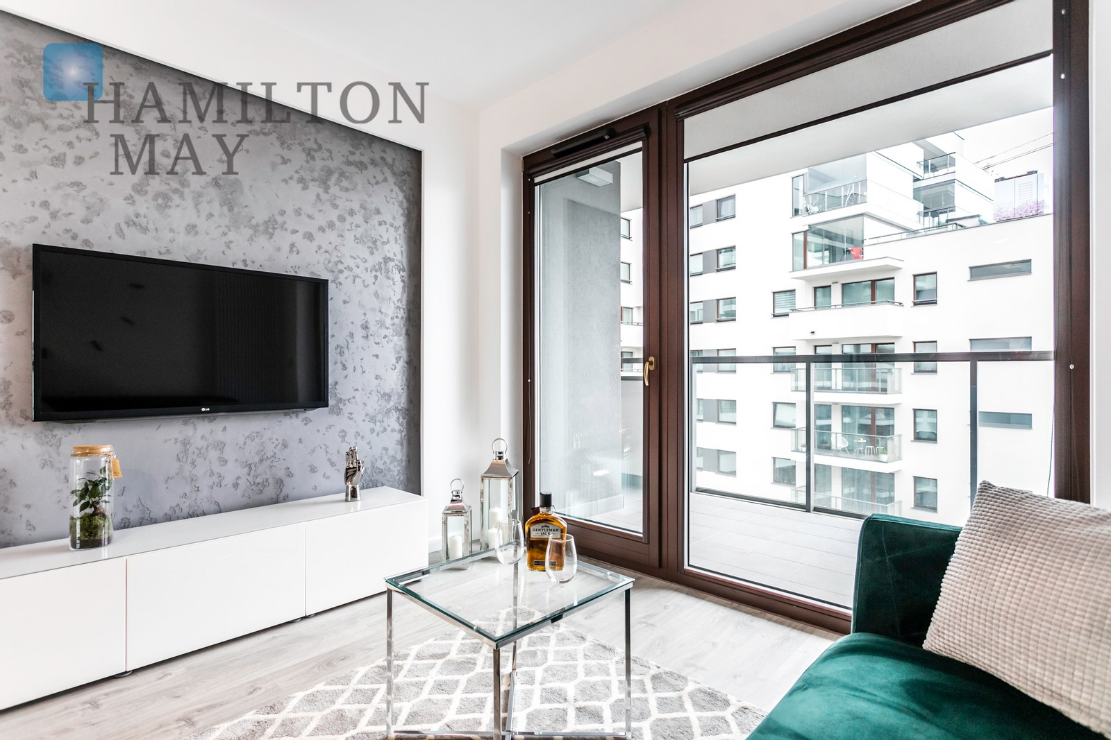 A Modern One Bedroom Apartment At Klopot St Klopot Warszawa For Rental Ref 15643 Hamilton May