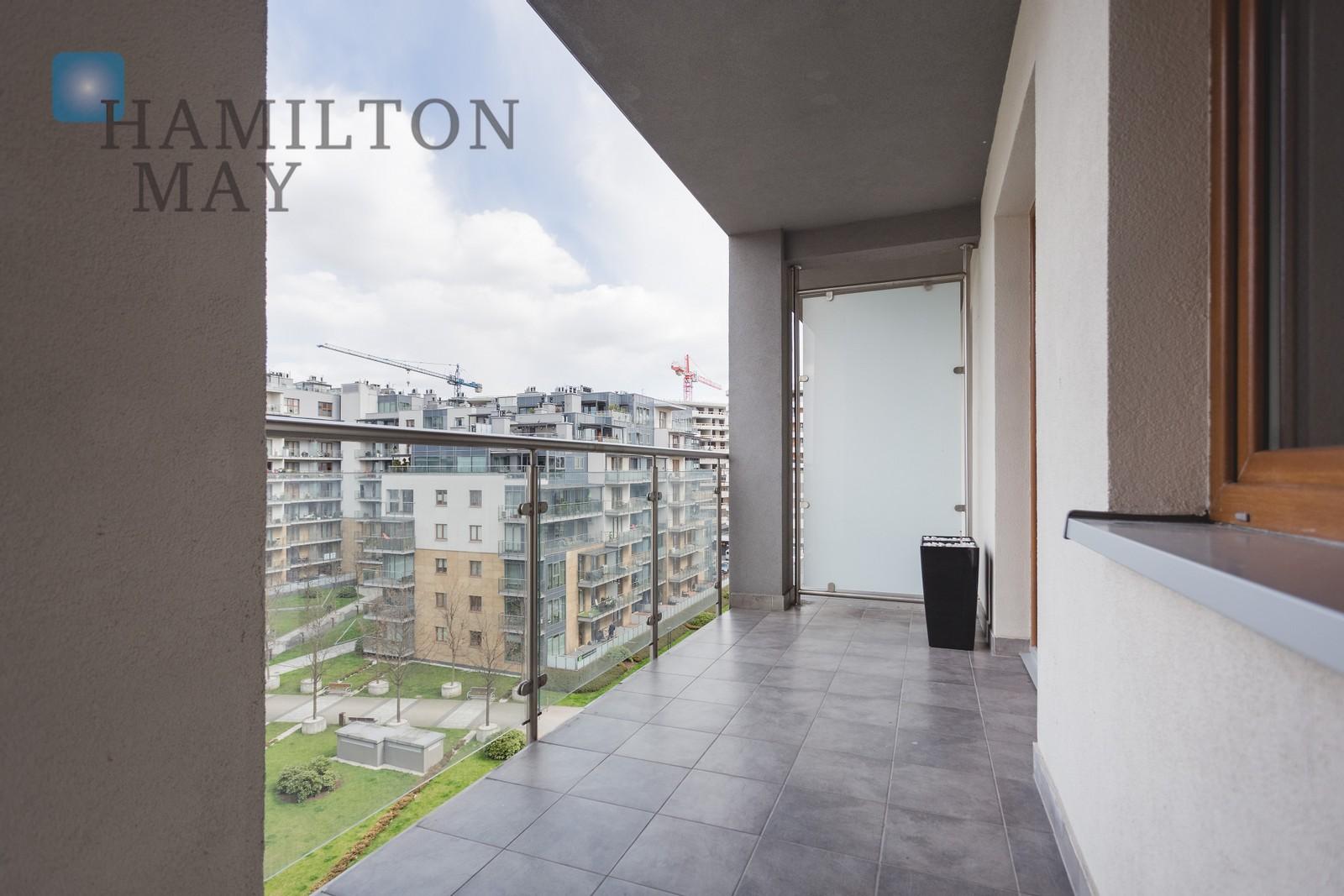 Modern apartment inprestigious complex Wiślane Tarasy, Krakow for rent