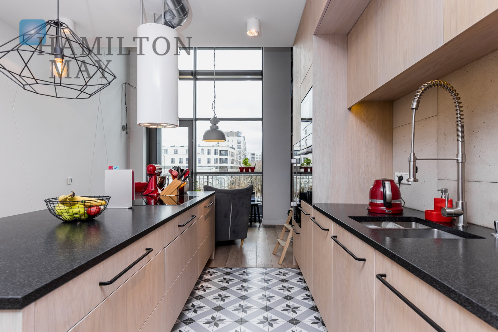 Stunning two bedroom duplex apartment in the Qbik development Warsaw for sale
