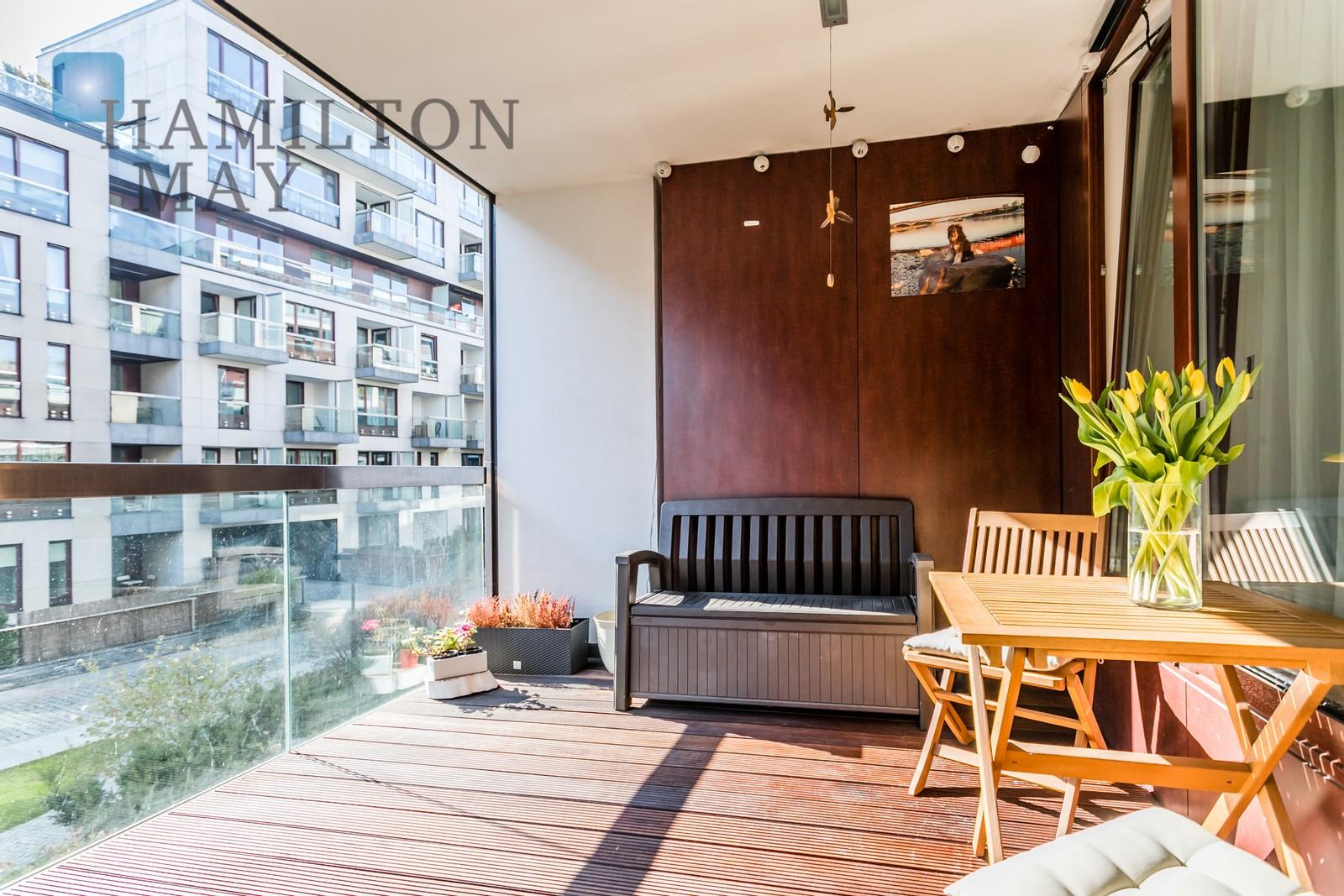 Przytulne mieszkaniez tarasem w prestiżowej inwestycjiMenolly Nowe Powiśle Warszawa na wynajem