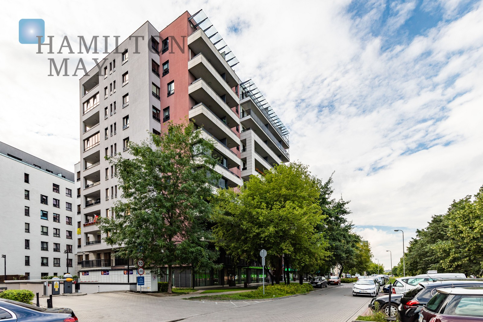 Residential property arranged as an office, in the City Zen investment in Stegny Warsaw for sale