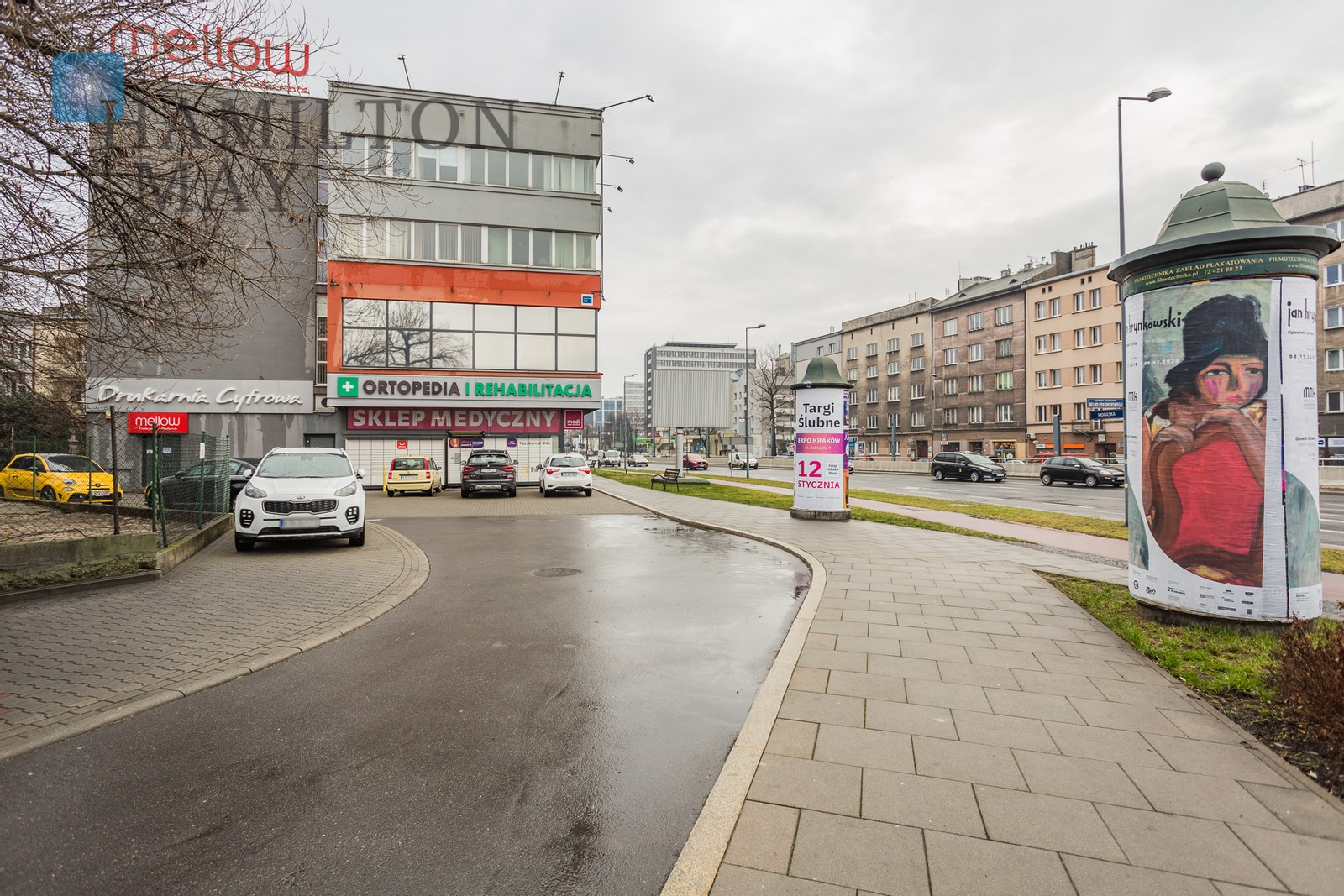 A large, attractive property on the basement level of a large office building located at Mogilska street Krakow for rent
