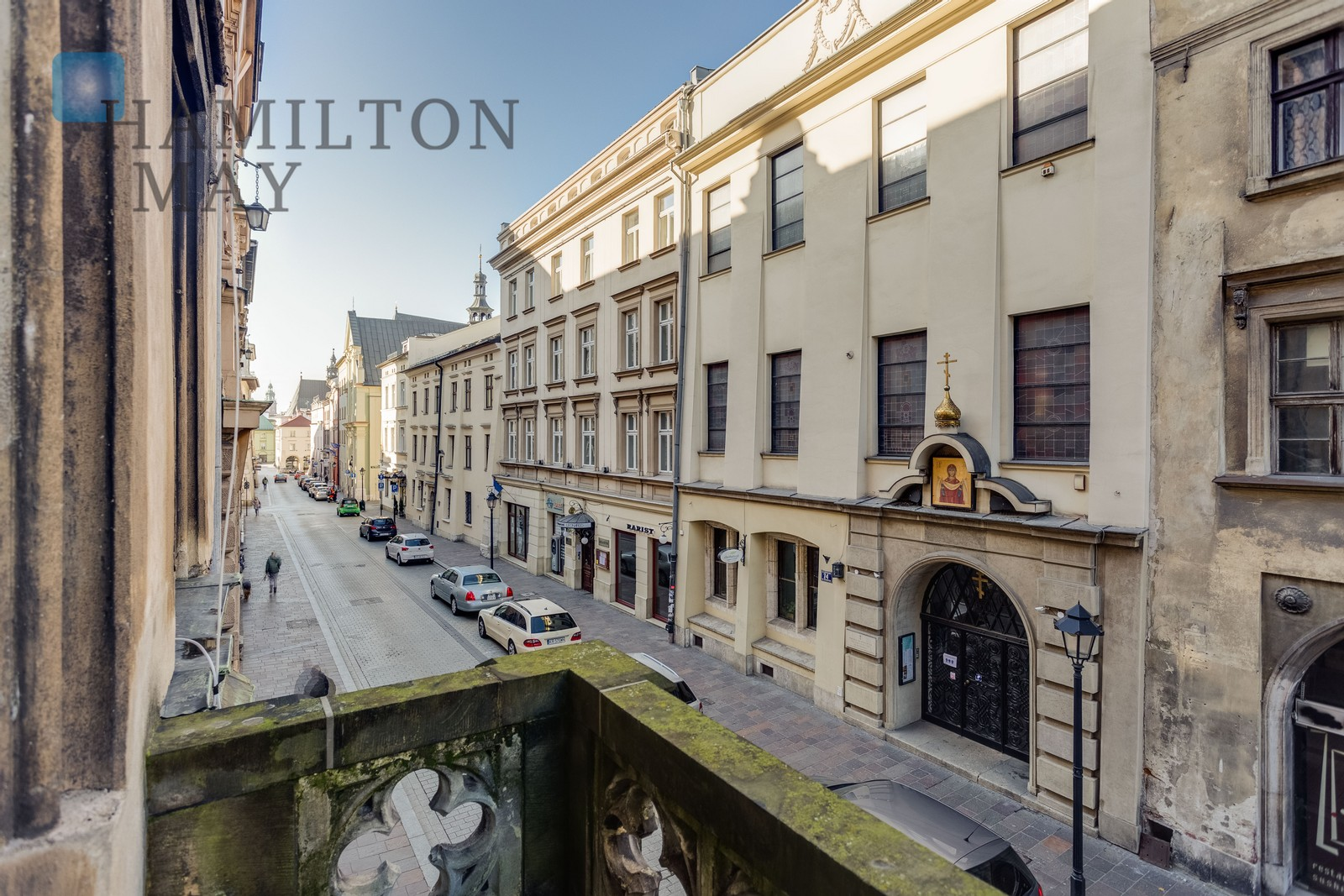 Elegant, newly finished 2-bedroom apartment with a balcony in the very heart of Krakow - Szpitalna Str. Krakow for rent