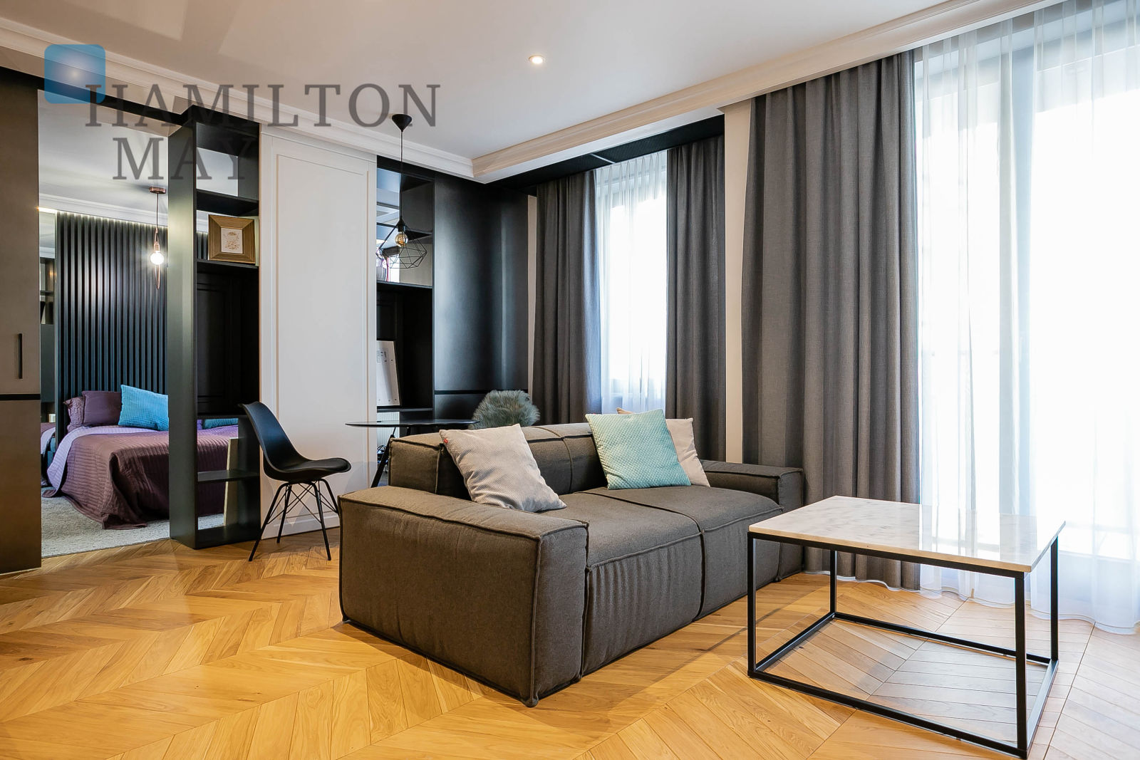 A luxurious apartment in the Orłowicza Residence Warsaw for rent