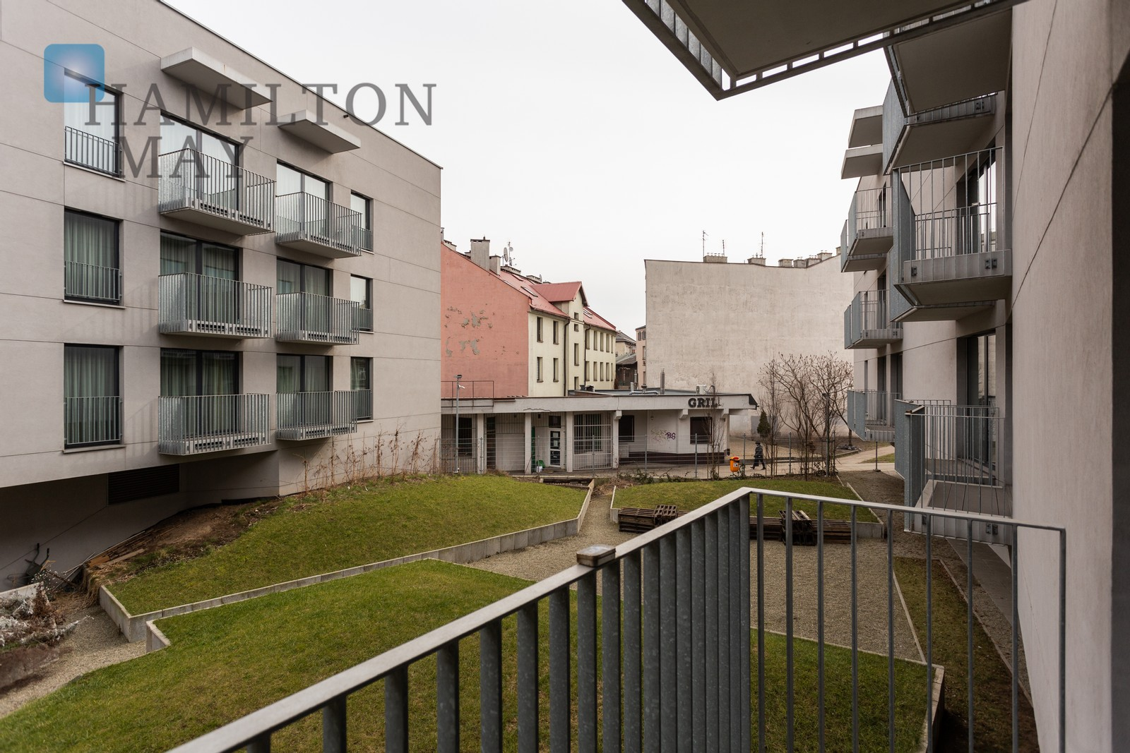 A beautifully furnished apartment in a luxurious building in Krakow's Podgórze. Krakow for rent
