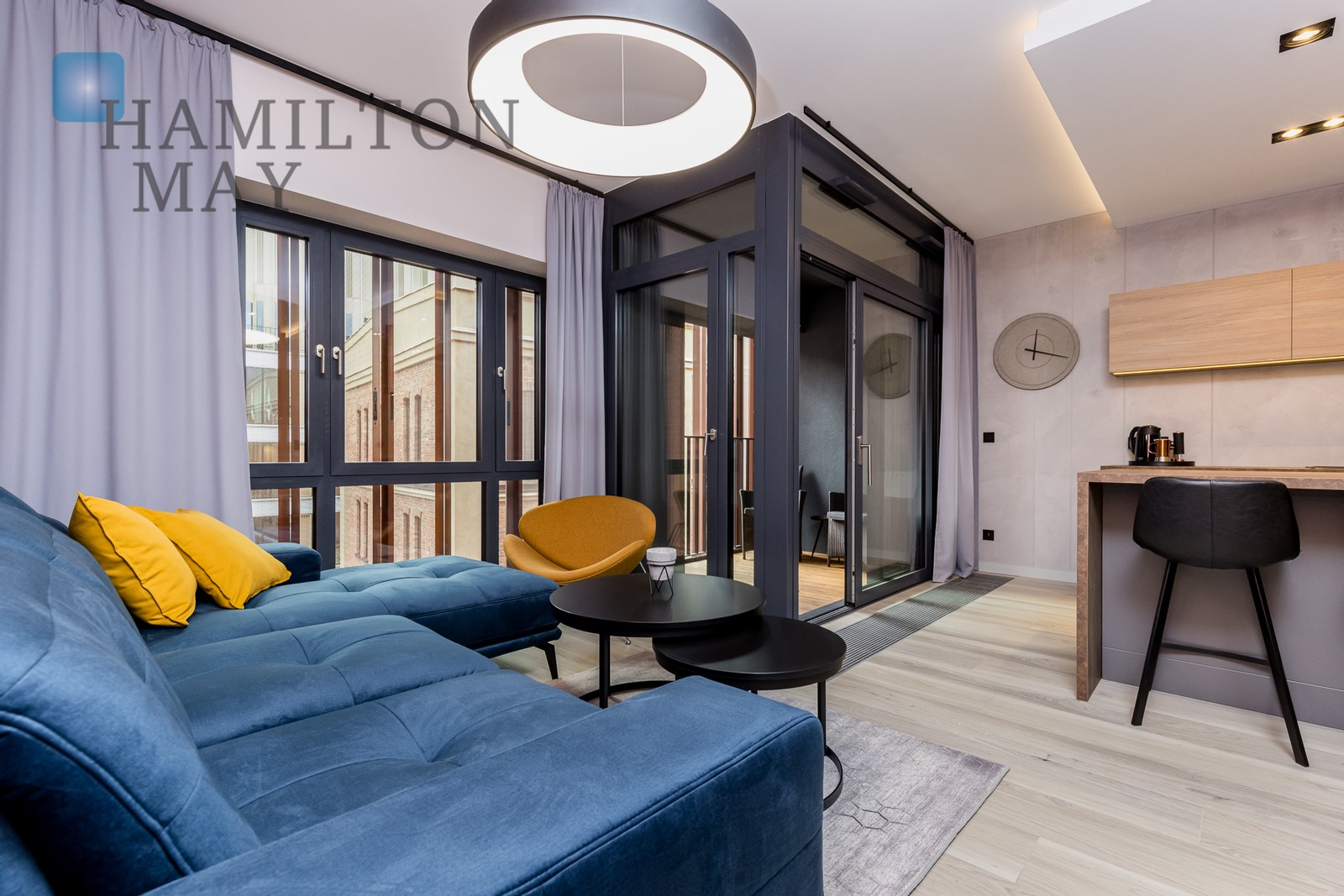 New apartment in the prestigious Apartamenty przy Warzelni development, within the area of Browary Warszawskie Warsaw for rent