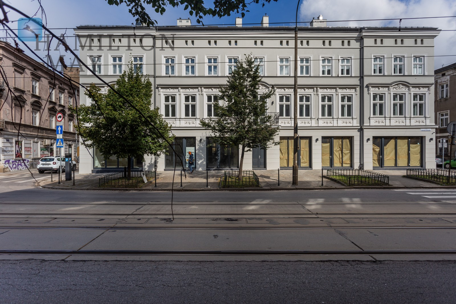 A commercial property with an area of 62 m2 in a prestigious investment at ul. Kosciuszki. Krakow for rent