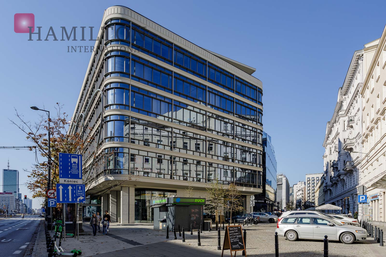 Cedet Warsaw office building photo