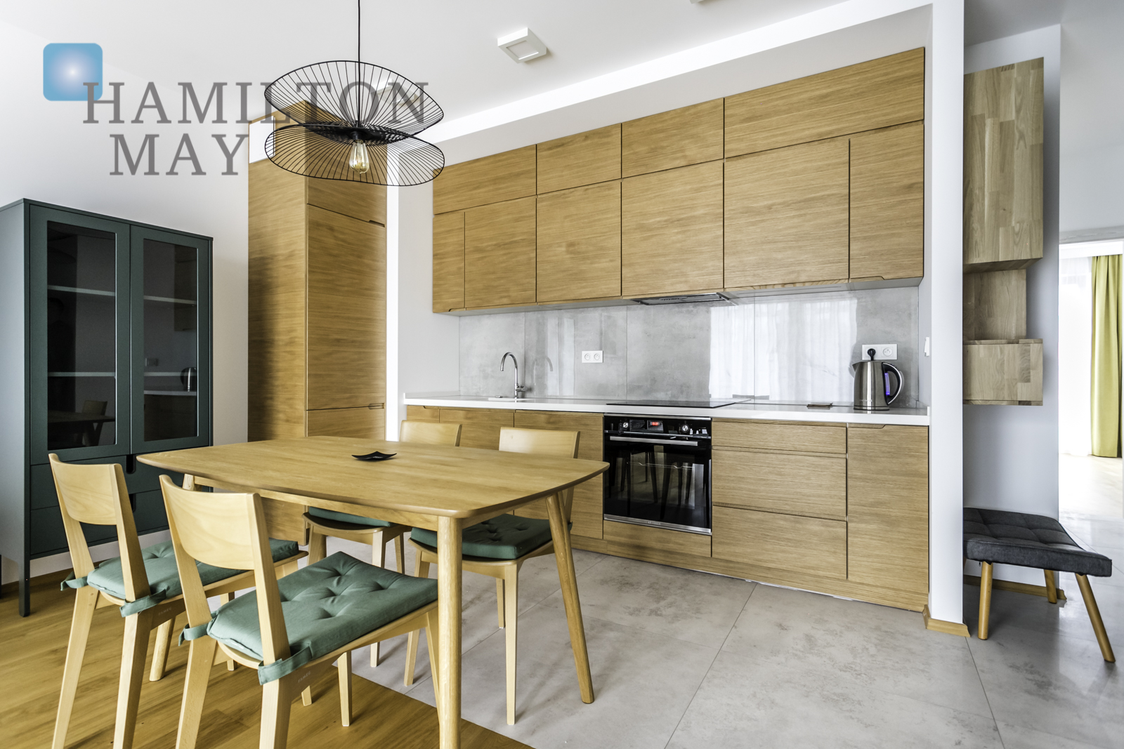 Stylish, comfortable two-bedroom apartment in the Grzybowska 85 development Warsaw for rent