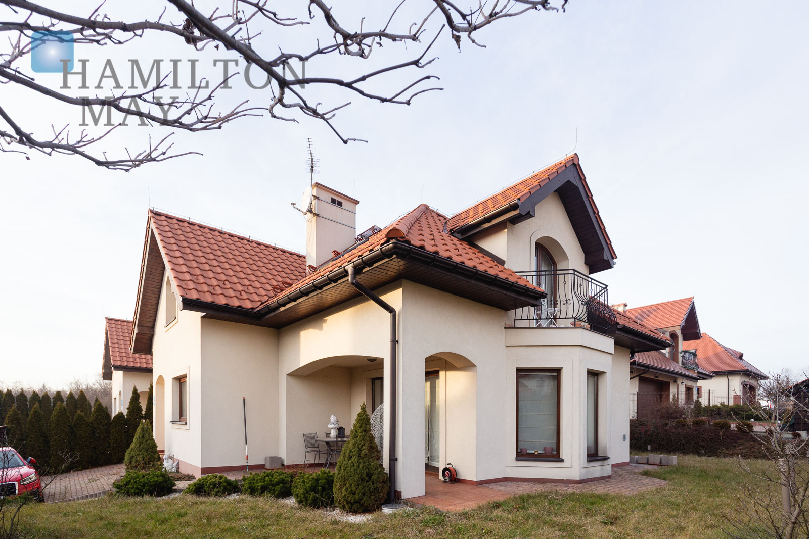 Modern house in a southern part of Kraków.  Krakow for sale