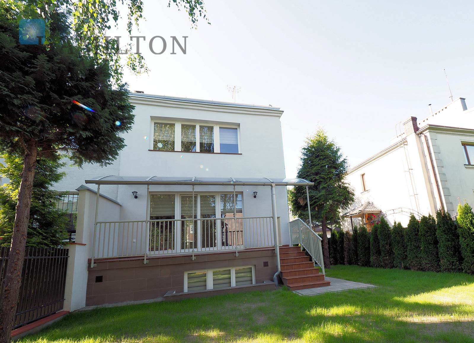 A comfortable semidetached house in Sadyba Warsaw for rent