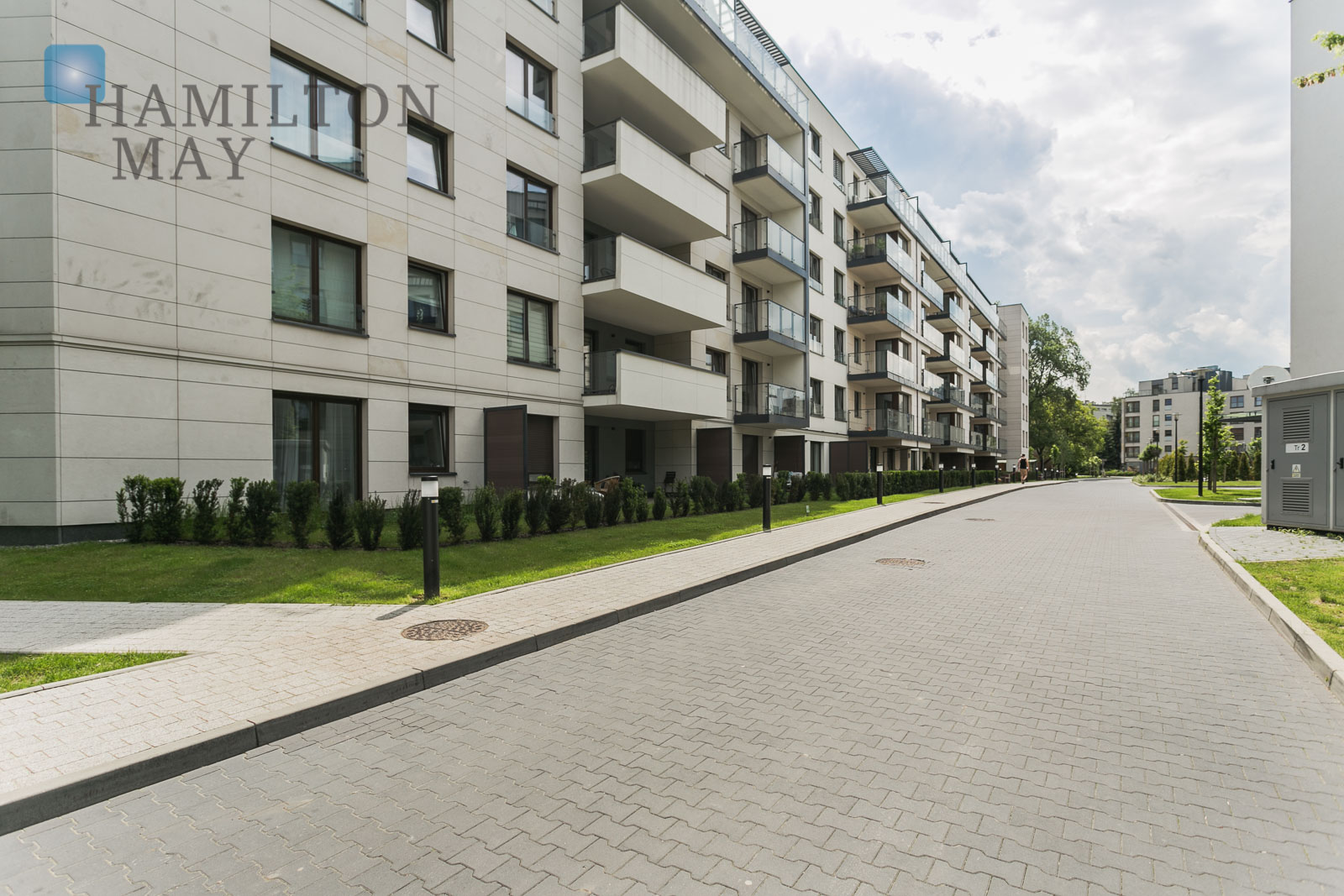 Modern one bedroom apartment with a balcony in a center of Kraków Krakow for sale