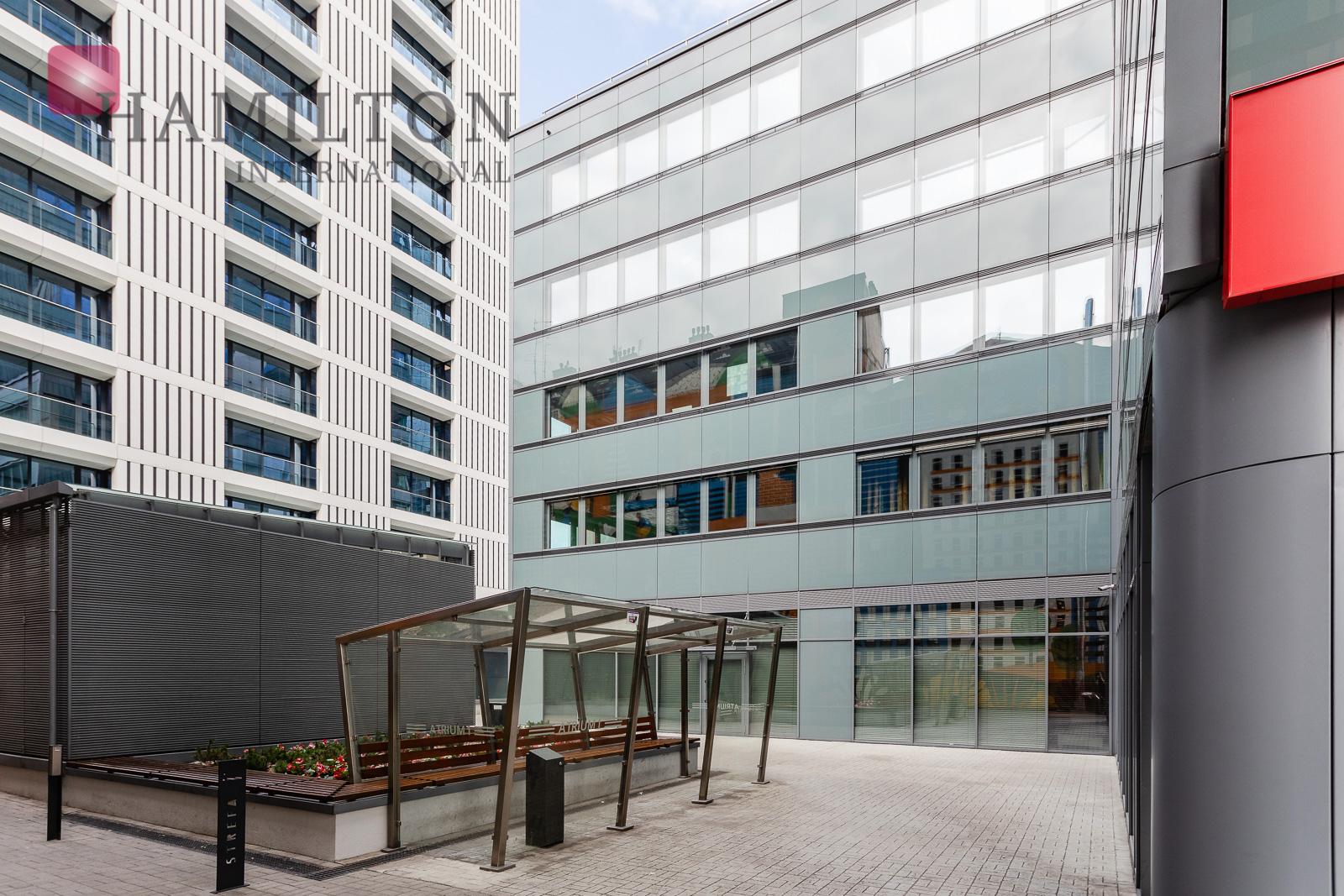 Atrium 1 Warsaw office building photo