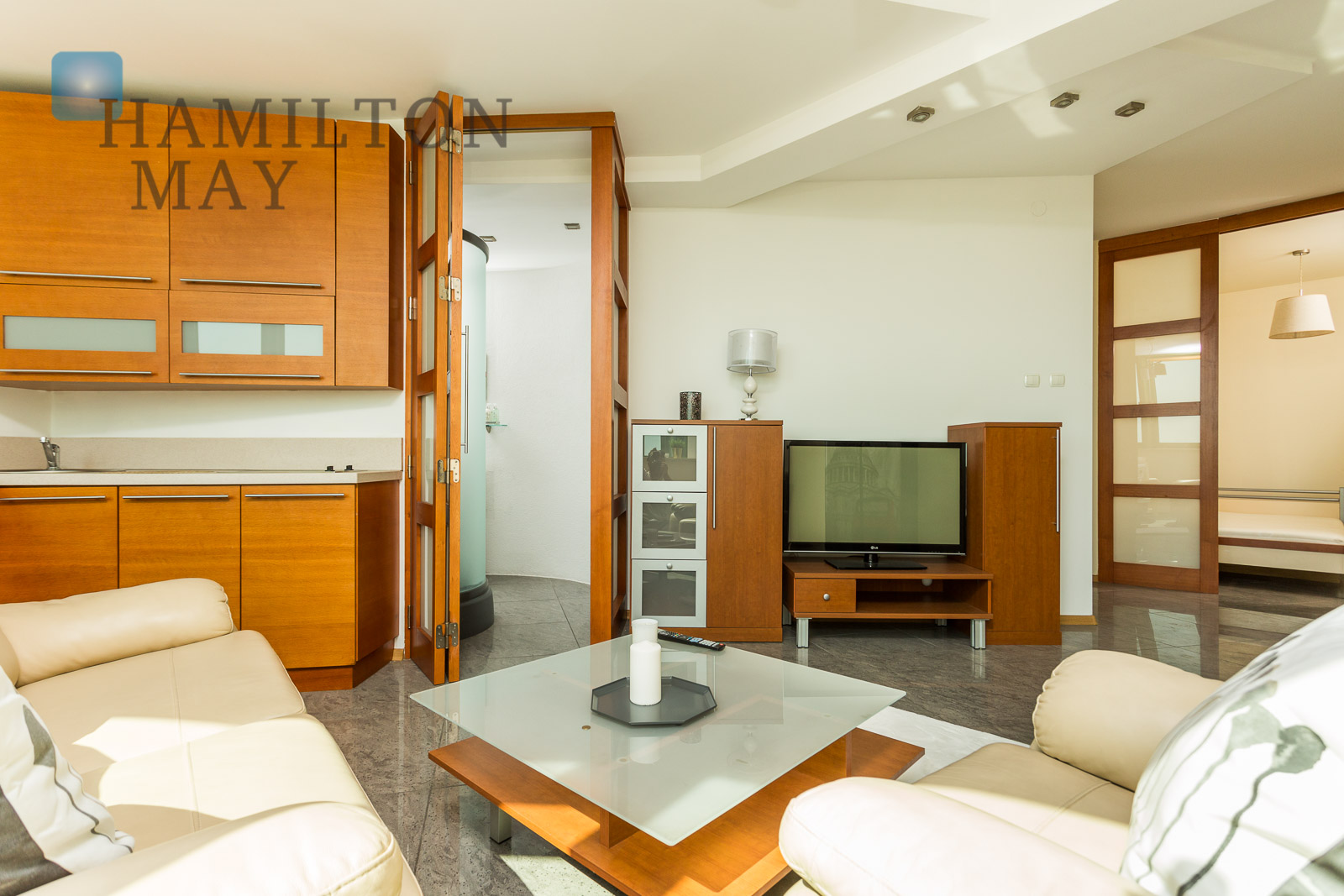 A suite of two fully equipped apartments - ideal as an investment Warsaw for sale