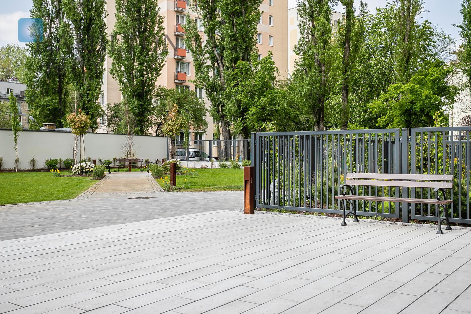 A duplex apartment in Saska Kępa - Zwycięzców street Warsaw for sale
