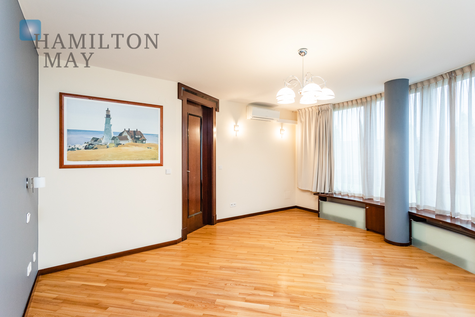 Beautiful four bedrooms apartment in the Marina Mokotow development Warsaw for sale