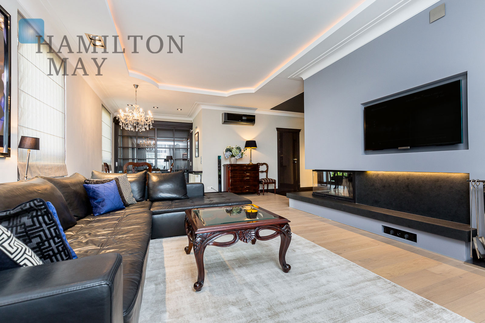 Luxurious apartment in Wilanów Warsaw for rent