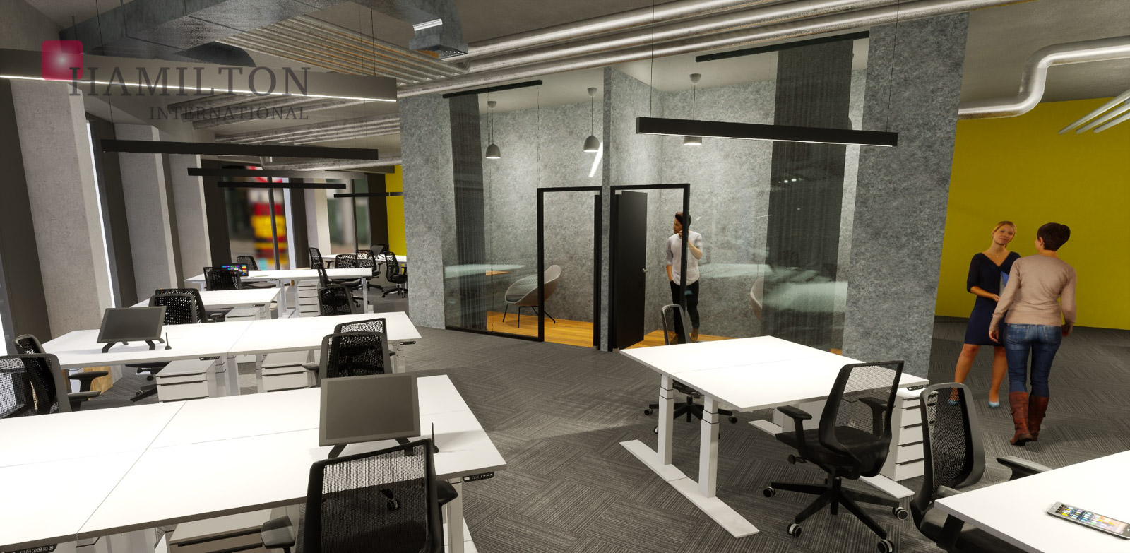 CitySpace Beethovena Warsaw serviced office building photo